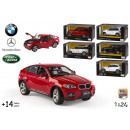 wholesale Models & Vehicles: Model car 6 licenses by 1:24