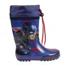 wholesale Shoes: Rubber rain boots  size 28-33 Captain America