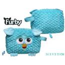 Bolso cosmético 24cm de la felpa Furby