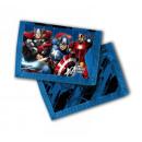 satén cartera 24x12cm Marvel Avengers