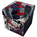 Aufbewahrungshocker mit Kissen Marvel Spiderman