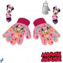 Winterhandschuhe Disney Minnie mit PVC Flicken