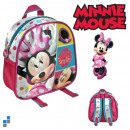 wholesale Licensed Products: Backpack 21cm Disney Minnie