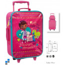 wholesale Licensed Products: Travel suitcase  trolley McStuffins 49cm 2 wheels