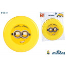 Frisbee aus  Kunststoff 22cm Minion