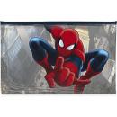 Schulmäppchen transparent PVC 24x15cm Spiderman