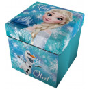 Storage stool with  Pillows Disney frozen