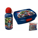 wholesale Bicycles & Accessories: Lunch box with  aluminum water bottle Avengers