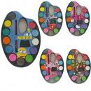 Palette de couleurs assorties 5 12 couleurs et pin