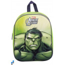 Rucksack 3D 33cm Hulk