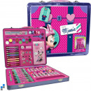 wholesale Licensed Products: Painting Set  60-piece aluminum case Disney Minnie