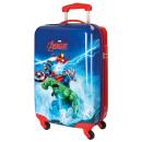 Reisekoffer Trolley 55cm ABS 4 Räder Avengers