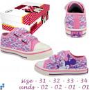 ingrosso Prodotti con Licenza (Licensing): scarpe di tela  formato 31-34  allineati Disney ...