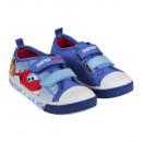 Großhandel Fashion & Accessoires: Canvas Schuhe mit  Licht Größe 23-30 Super Wings