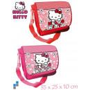 Schultertasche 35cm 2-fach sortiert Hello Kitty