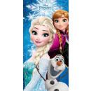 grossiste Articles sous Licence: Serviette de plage  70x140cm Disney frozen