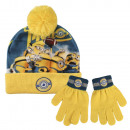 Winter Set 2-teilig (Mütze und Handschuhe) Minion