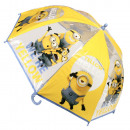 Regenschirm transparent Minion Ø90cm