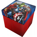 wholesale Organisers & Storage: Storage stool with  Pillows Marvel Avengers