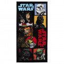 mayorista Artículos con licencia: toalla de playa 70x140cm Star Wars