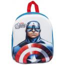 Rucksack 3D EVA 33cm Captain America