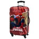 Reisekoffer Trolley 67cm ABS 4 Räder Spiderman