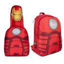Rucksack mit Kapuze 37cm Marvel Avengers Ironman