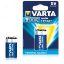Varta 9 V Blockbatterie Alkaline 1er Pack