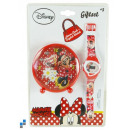 watch & Digital Alarm Clock Table Minnie
