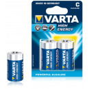 Batteries Varta High Energy alcaline LR14 C Baby 2