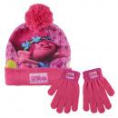 Winter Set 2-teilig (Mütze und Handschuhe) Trolls