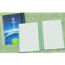 Notepad 120 feuilles Squared UEFA Champions League