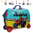 Reisekoffer / Sitz-Trolley - Blaze ABS 4 Räder