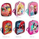 Großhandel Lizenzartikel: Kinder Rucksack 6-fach sortiert 28cm Disney