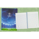 Notepad UEFA Champions League 60 feuilles Squared
