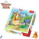 3D Puzzle 120 pièces 25x20cm Winnie the Pooh