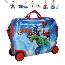 groothandel Koffers & trolleys: Travel case / stand Trolley - Avengers ABS 4 Wheel