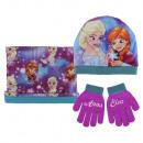Winter Set (Mütze, Bandana & Handschuhe) Frozen