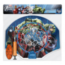 wholesale Balls & Rackets: Basketball Set  with ball and pump Marvel Avengers