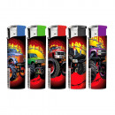 wholesale Lighters: Rechargeable  Electronic Lighter  Monster Trucks