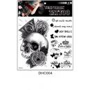 Großhandel Piercing / Tattoo: Brett temporäre Tattoos # 11 23cm