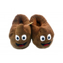 wholesale Shoes: Pair of Slippers  Smiley 28cm turd happy