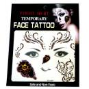 Großhandel Piercing / Tattoo: Gesicht temporäre  Tätowierung # 5  Mask  14cm