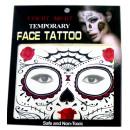 Großhandel Piercing / Tattoo: Gesicht temporäre  Tätowierung # 6  Mask  14cm