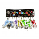 Keychains sneacker 7.5cm assorted colors