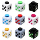 grossiste Jouets: Toupie anti stress   Fidget Cube  3.8cm mix