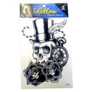 wholesale Jewelry & Watches: Temporary Tattoo # 2  Skull  20cm
