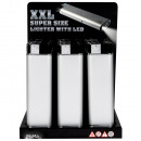 Elektronische aansteker XXL LED  Super Size  geld