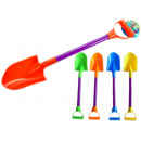 groothandel Reinigingsproducten: 46cm diverse kleuren zand schop