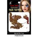 Großhandel Piercing / Tattoo: temporäre  Tätowierung Auge  Schatten  # 22